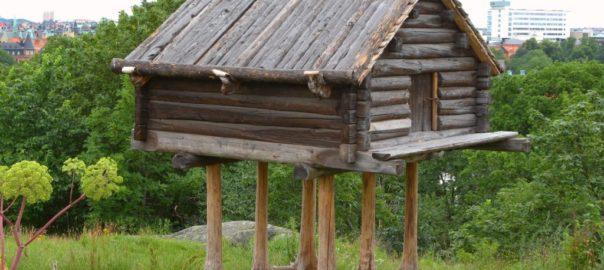 Saamide sammasait Skanseni muuseumis. Foto: Wikipedia
